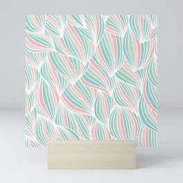 Cool Colorful Ocean Waves Mini Art Print