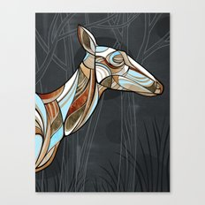 ELK (drk background) Canvas Print