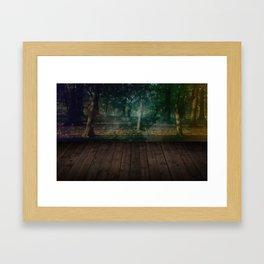Mystic Garden Framed Art Print