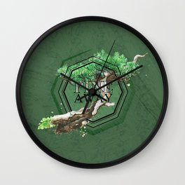 Pine Away Wall Clock