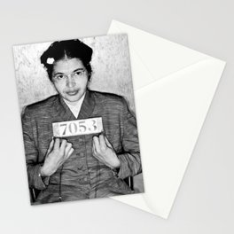 Rosa Parks Arrest Photo Stationery Cards
