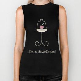 I'm a dessertarian! Biker Tank
