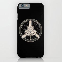 GAMER WAR QUOTE iPhone Case
