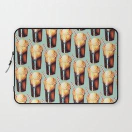 Root Beer Float Pattern Laptop Sleeve