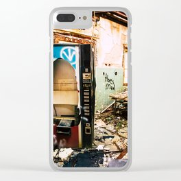 Out Of Order Clear iPhone Case