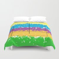square Duvet Covers featuring Square  by Mahoky