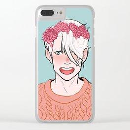 YOI Flower Boys - Viktor Clear iPhone Case