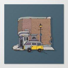 brickhouse Canvas Print