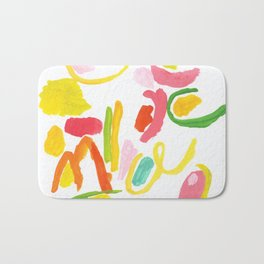 Abstract Landscape 1 Bath Mat