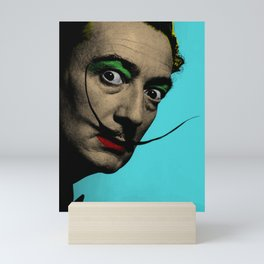 Salvador Dali Pop Art Mini Art Print