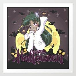 Happy Halloween Setsuna Art Print