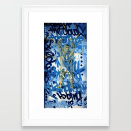 Holding Up The Sky Framed Art Print