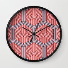 Hexagon No. 2 Wall Clock
