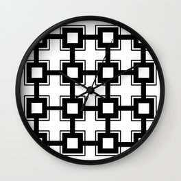 Moonokrom no 9 Wall Clock