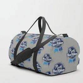 Punk Blue Ribbon Beer Duffle Bag