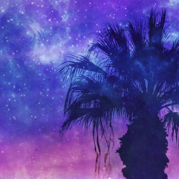 Palm Beach Galaxy Universe Watercolor Leggings
