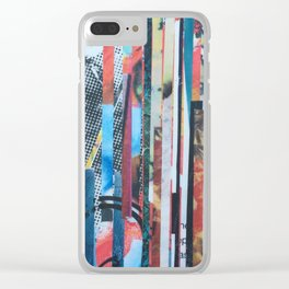 STRIPES 37 Clear iPhone Case