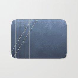 Moods in Blue-Gray Bath Mat