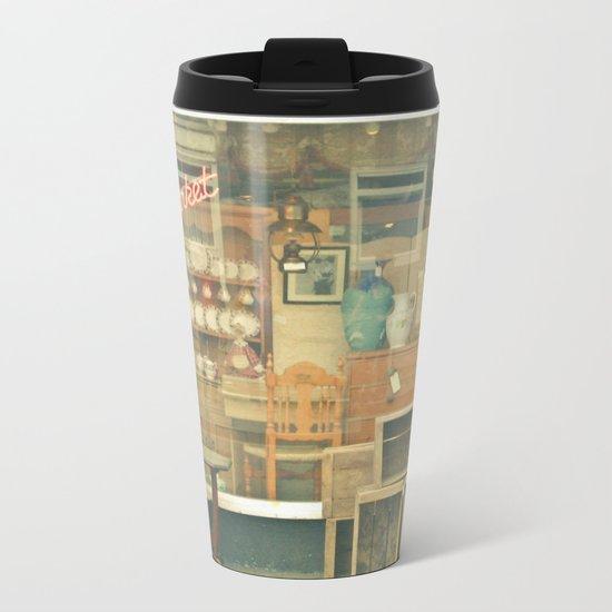 Market Metal Travel Mug
