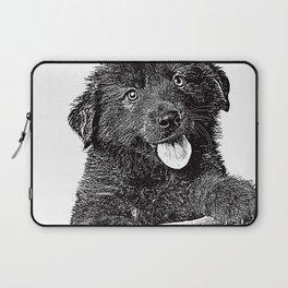 Cute fluffy puppy Laptop Sleeve