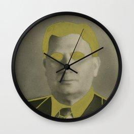The Golden Man Wall Clock