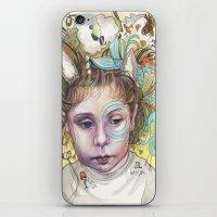creativity iPhone & iPod Skins featuring Creativity by busymockingbird