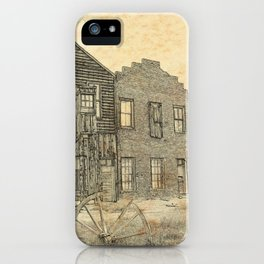 Ghost Town Bodie California iPhone Case