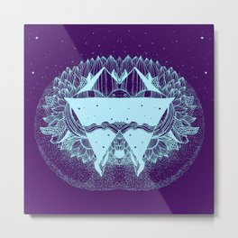 Some there out in the he space Metal Print