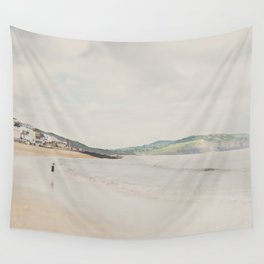 between the showers ... Wall Tapestry