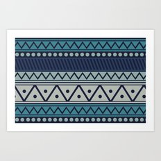 I Heart Patterns #013 Art Print