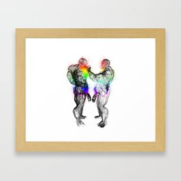 THICK PRIDE Framed Art Print