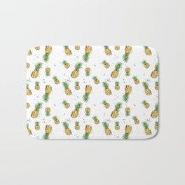 Small Pineapple Pattern Bath Mat