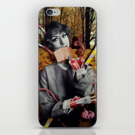 The Fall | Collage iPhone Skin
