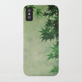 japanese serenity iPhone Case