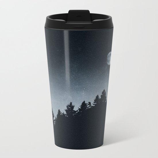 Under Moonlight Metal Travel Mug