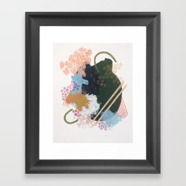 from the neighborhood no.1 Framed Art Print