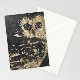 Golden Owl Stationery Cards