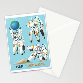 Hold the Earth Stationery Cards