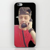 snl iPhone & iPod Skins featuring Phone by F*** Me Pete Davidson