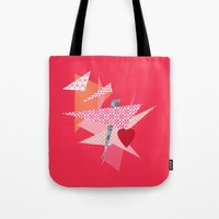 valentines Tote Bags featuring Valentines Abstract by secretgardenphotography [Nicola]