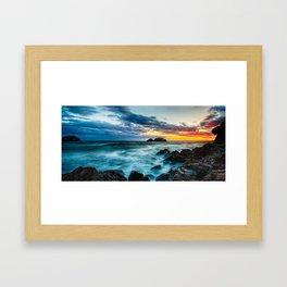 Heart Rock Framed Art Print