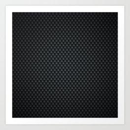 Carbon-fiber-reinforced polymer Art Print