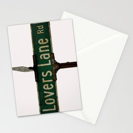 LOVERS LANE Stationery Cards