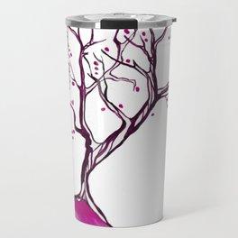 Magenta tree Travel Mug