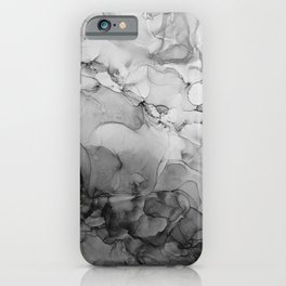 Harmony in Black and White iPhone Case