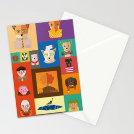 Wes Anderson Fantastic Mr. Fox Stationery Cards