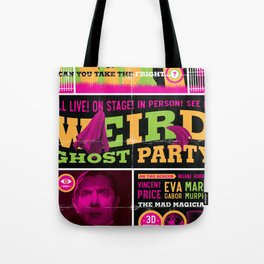 Spook Show Tribute Poster 02 Tote Bag