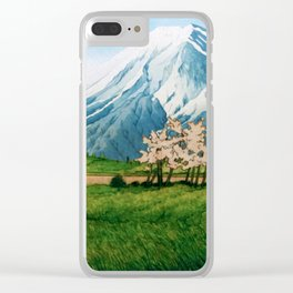 Resting before the Climb Clear iPhone Case