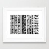 urban Framed Art Prints featuring Urban  by Elsa Harley