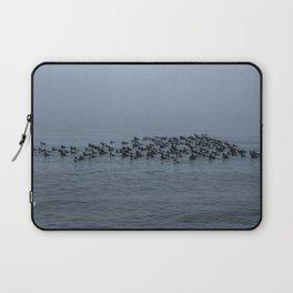 Ducks in the Fog Laptop Sleeve